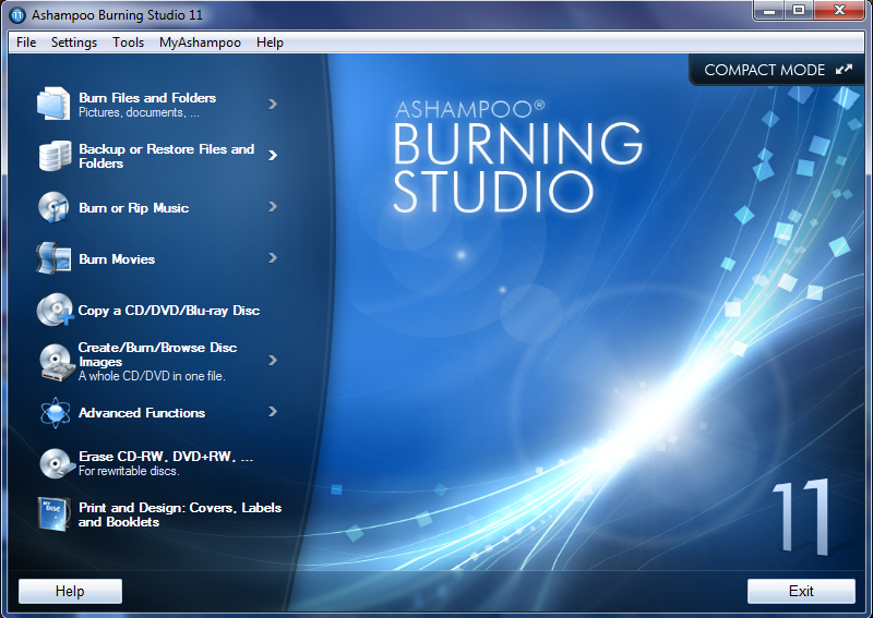 �������� ������� Ashampoo Burning Studio 11.0.2.9 Final - Silent ���� ���� ����������