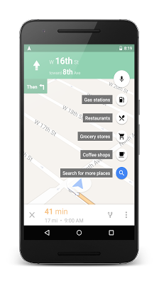 تحديث خرائط قوقل على أندرويد جلب خاصية التنقل الملاحة
