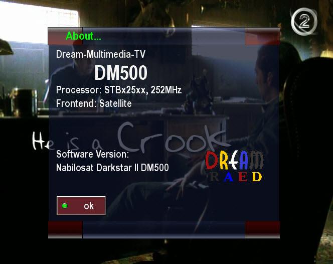 ���� NabiloDarkstar2 ���� CCcam2.1.2 � SPCS2.5.16 ������� � ���� ����� �������