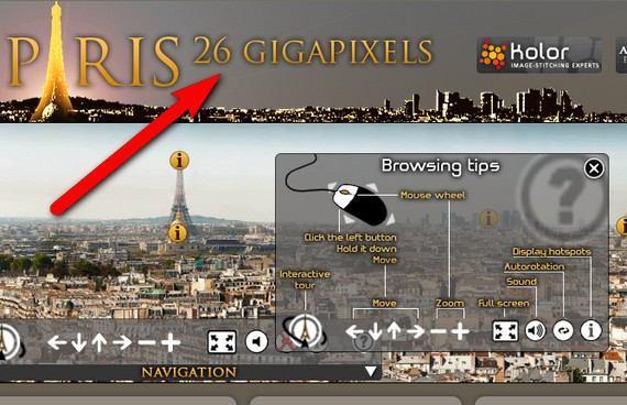 اليكم كبر صورة في العالم من حيث الحجم paris-26-gigapixels