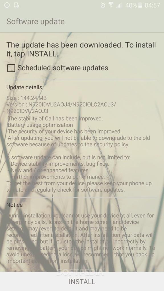 هاتف نوت 5 يحصل على تحديث أندرويد 5.1.1 لولي بوب