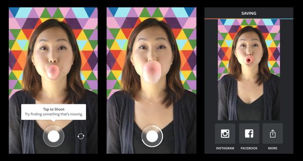 عمل فيديو طوله ثانية واحدة بواسطة تطبيق Boomerang من انستغرام