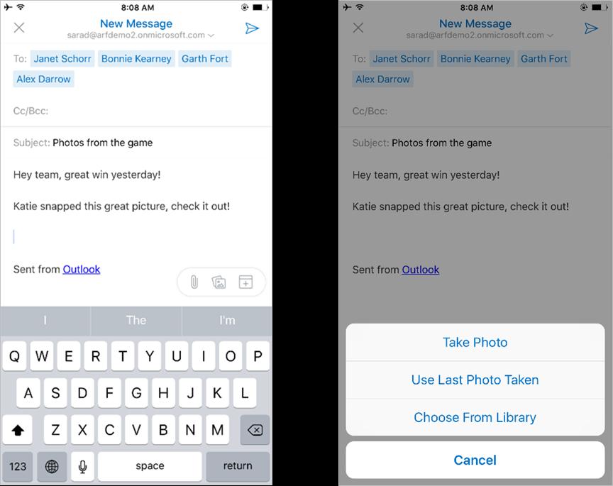 دمج تطبيق التقويم Sunrise على تطبيق البريد Outlook من مايكروسوفت