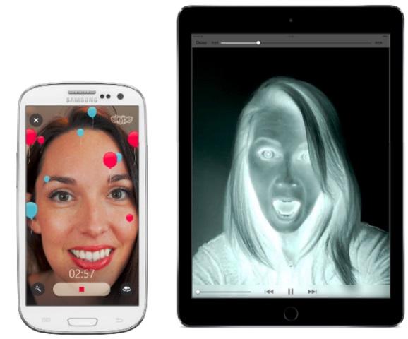 تحديث سكايب يدعم 3D Touch وفلاتر الفيديو