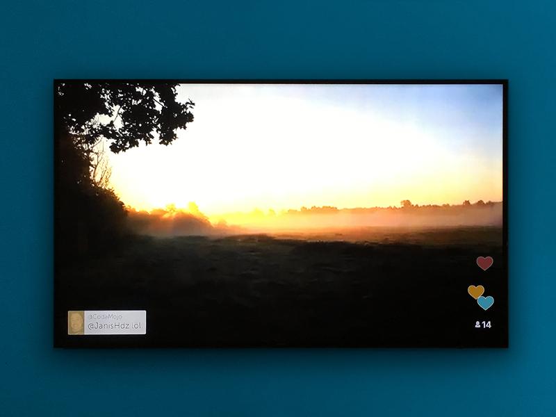 إطلاق تطبيق البث الحي والمباشر بريسكوب Periscope على أجهزة تلفاز أبل الذكية Apple TV