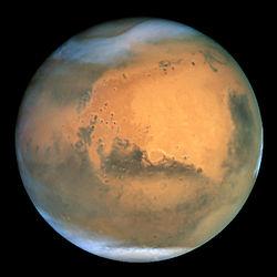 معلومات عن المريخ Mars , حقائق عن كوكب المريخ