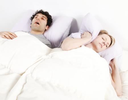 جهاز لاسلكي لعلاج الشخير أثناء النوم