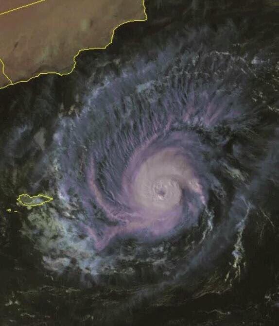 صور وتفاصيل مدى تاثير إعصار ميج على سواحل المملكة