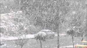 هطول الثلوج على الاردن شهر ديسمبر 2015