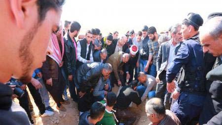 صور تشييع جثمان الشهيد عوني العقرباوي