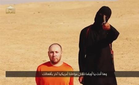 شاهد الطريقة التي استهدف بها ذباح داعش