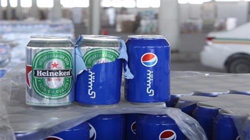 بالصور البيرة تغزو السعودية بيبسي