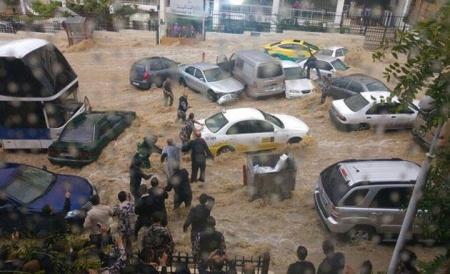 أمانة عمان تستعد لعاصفة مطرية متوقعة الأحد 15-11-2015