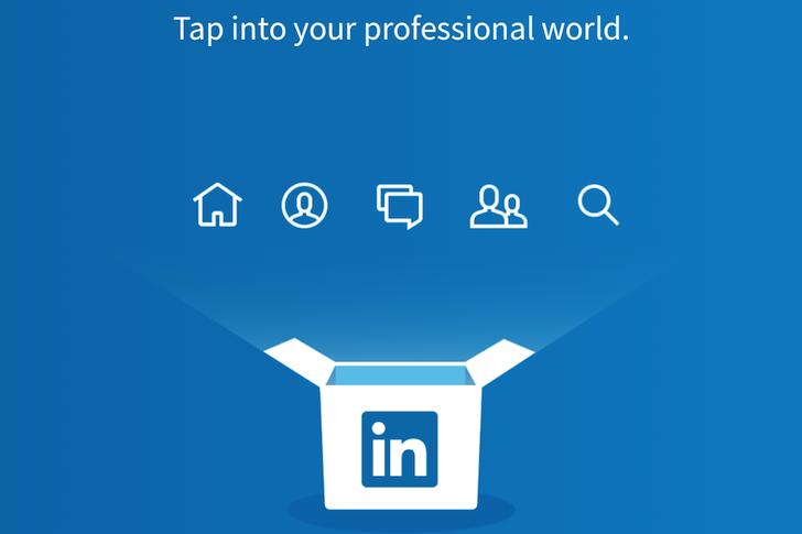تحديث تطبيق شبكة لينكد إن إصدار LinkedIn 4.0 على أندرويد تصميم ماتيريال ديزاين