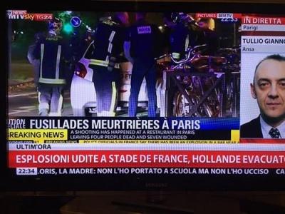 داعش ينشر صور منفذي هجوم باريس