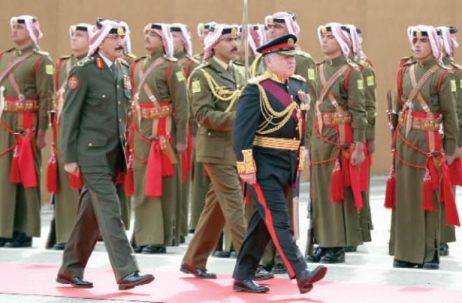 بالفيديو الملك عبدالله الثاني الحرب على قوى الشر والظلم والإرهاب حربنا