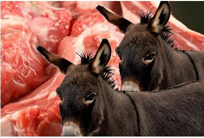لحم الحمير إشاعة