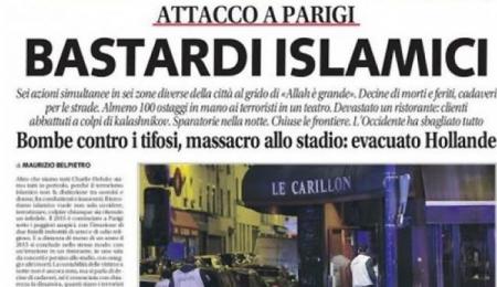 صحيفة ليبيرو إيطالية تهاجم المسلمين وتصفهم بالأوغاد فماذا حل بها