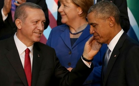 صورة أردوغان وأوباما الصورة الذي هزت الإنترنت واثارت الجدل والسبب