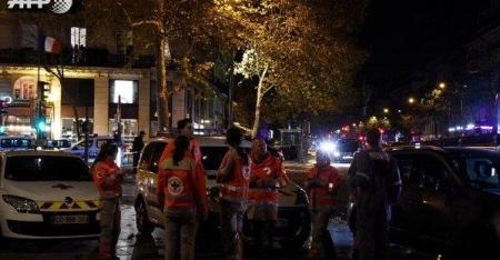 إمرأة مفخخة تفجر نفسها شرقي باريس