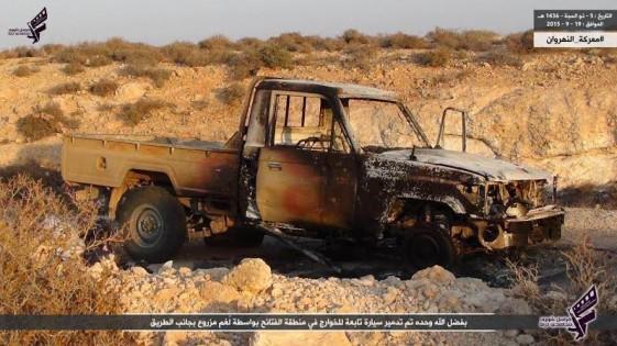 الكشف عن هوية قتلى داعش في معارك درنة الليبية