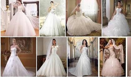 كوتيل صور فساتين عرايس 2016 - صور فساتين زفاف 2016 - صور فساتين افراح 2017