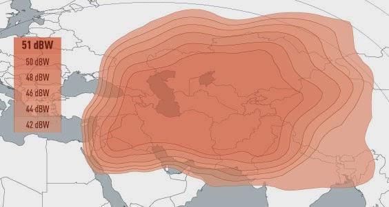 شرح استقبال القمر الافغانى فى بالصور Afghansat