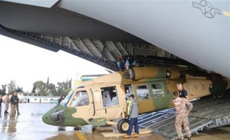 الاردن طائرات بلاك هوك لترسيخ أمن الحدود