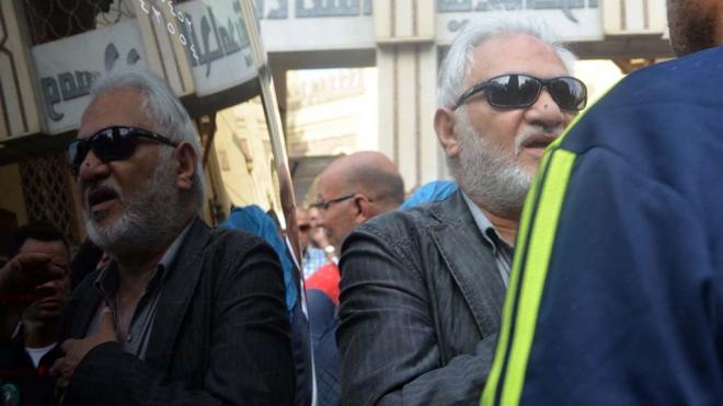 صور جنازة الفنانة مديحة سالم غياب الفنانين وأسرتها في حالة انهيار