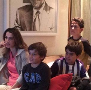 شاهد ماذا علقت الملكة رانيا العبد الله على لقاء الكلاسيكو