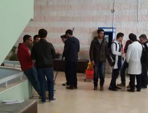 بالصور طلبة الطب بالجامعة الاردنية يثيرون الاعجاب ماذا فعلوا