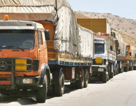 خسائر قطاع الشاحنات الاردنية 535 مليون دينار