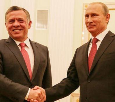 الملك عبدالله الثاني يلتقي بوتن وسط أزمة إسقاط تركيا لطائرة حربية روسية