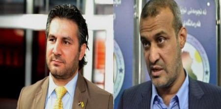 بالصور نائب عراقي يطلق النار على زميله خلال مناظرة تلفزيونية