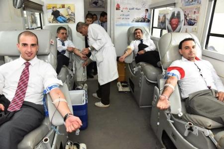 بنك الإسكان الاردني يواصل تعاونه مع بنك الدم بحملات جديدة