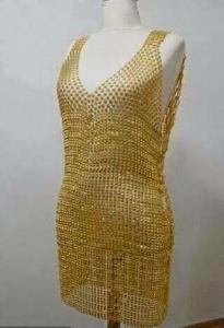 فستان من الذهب الخالص للبيع في محافظة إربد