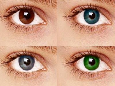 معلومات عن تغيير لون العين بشكل دائم
