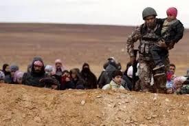 قوات حرس الحدود الأردنية تستقبل 51 لاجئا سوريا