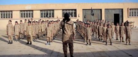جيش من الأطفال في داعش