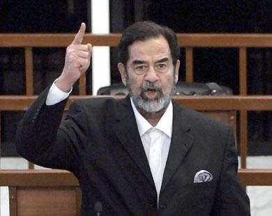 اخر رسالة كتبها الشهيد صدام حسين