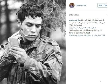 شاهد بالصور الملكة رانيا تكشف عن عشقها لشاب عشريني وسيم وتنشر صورته