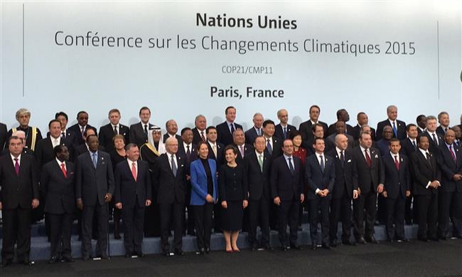 شاهد صور الملك عبدالله الثاني يلتقي رؤساء وفود بمؤتمر المناخ في باريس