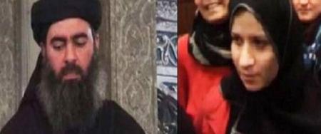 شاهد بالفيديو الافراج عن سجى الدليمي طليقة البغدادي