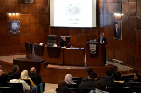 جامعة عمان الأهلية تستضيف الدكتورة رنا الدجاني