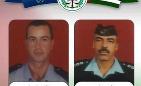 اللواء عاطف السعودي شارك في تشييع جثمان الشهيد النقيب جمال محمد الدراوشة
