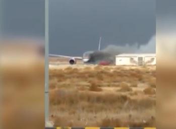 بعد الحريق في مطار الملكة علياء الدولي لا تغيير على رحلات الملكية