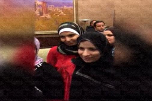 صور سجى الدليمي, صور زوجة خليفة داعش أبو بكر البغدادي
