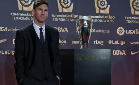 ميسي أفضل لاعب وهداف في الدوري الإسباني لموسم 2014-2015
