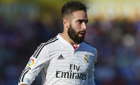 الإصابة تحرم ريال مدريد من خدمات كارفاخال اصابة عضلية في فخذه الايسر