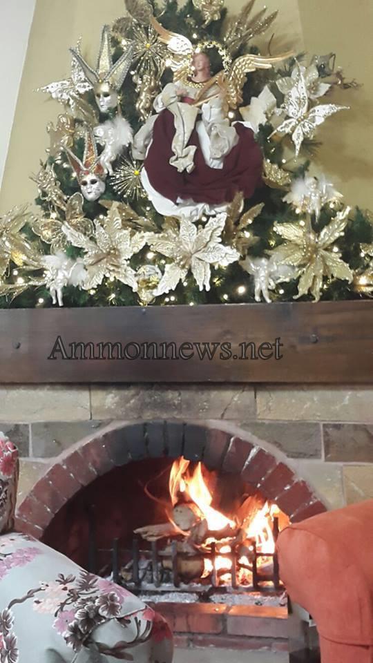 صور التحضير لعيد الميلاد المجيد في الاردن هذا العام